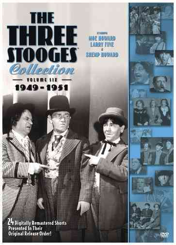 THREE STOOGES COLLECTION:1949-1951 BY THREE STOOGES (DVD)